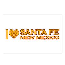 I Love Santa Fe, NM Postcards (Package of 8)