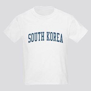 South Korea Blue Kids Light T-Shirt
