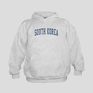 South Korea Blue Kids Hoodie