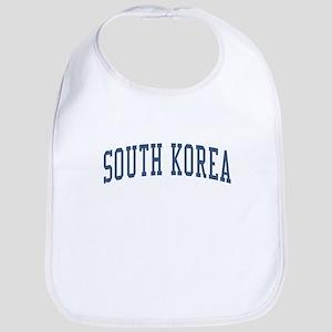 South Korea Blue Bib