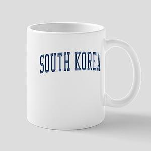 South Korea Blue Mug