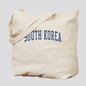 South Korea Blue Tote Bag