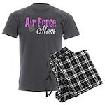 Air Force Mom Men's Charcoal Pajamas