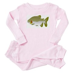 Pacu fish Baby Pajamas