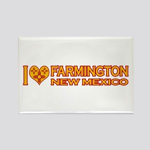 I Love Farmington, NM Rectangle Magnet