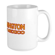 I Love Farmington, NM Large Mug