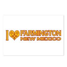 I Love Farmington, NM Postcards (Package of 8)