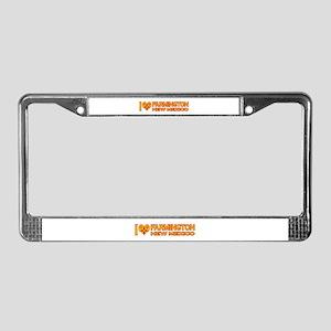 I Love Farmington, NM License Plate Frame