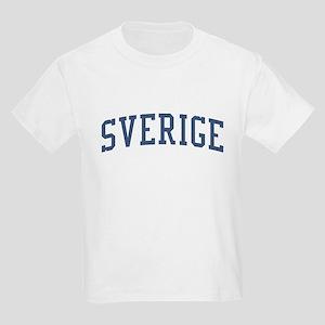 Sweden Blue Kids Light T-Shirt