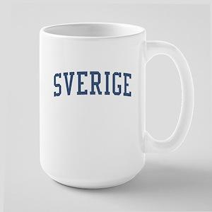 Sweden Blue Large Mug