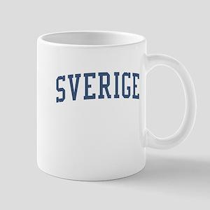Sweden Blue Mug