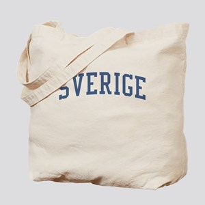 Sweden Blue Tote Bag