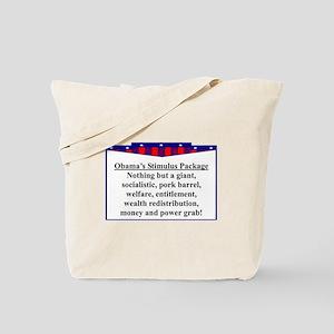 """""""Obama's Stimulus Plan"""" Tote Bag"""