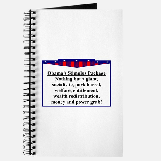 """Obama's Stimulus Plan"" Journal"