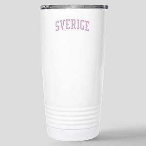 Sweden Pink Stainless Steel Travel Mug