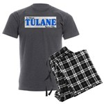 New Orleans Streets Men's Charcoal Pajamas