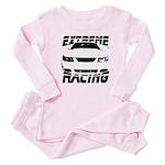 Racing Mustang 99 2004 Baby Pajamas