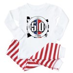 5.0 50 RWB Baby Pajamas