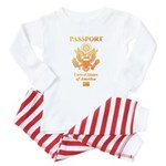 PASSPORT(USA) Baby Pajamas