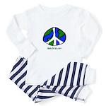 world peace Baby Pajamas