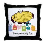 Playnormous Monster Mini Throw Pillow