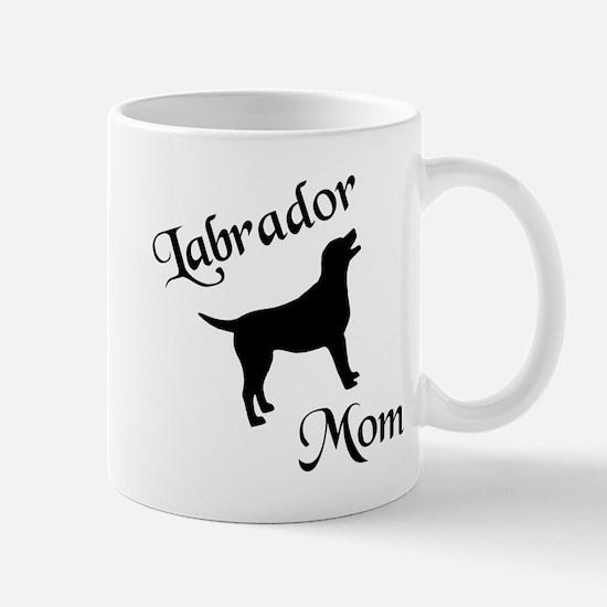 Labrador Mom w/ Silhouette Mug