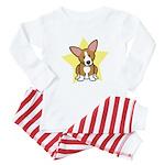 Star Kawaii Corgi Baby Pajamas