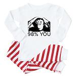 Evolution, Chimp: 98% You Baby Pajamas