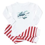 Beluga Whales Baby Baby Pajamas Baby Animal Gifts