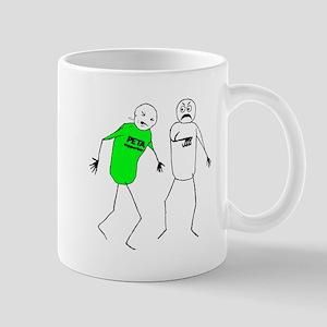 Punching PETA! Mug