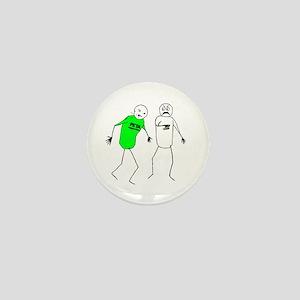 Punching PETA! Mini Button