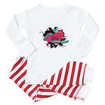 My Savvy Auntie [Hearts] Me Baby Pajamas