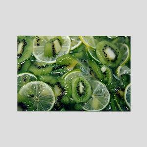 Kiwi Lime - Rectangle Magnet