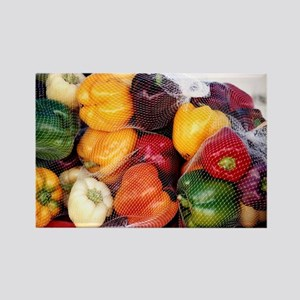 Peppers - Rectangle Magnet