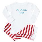 Mommy Raqs! Baby Pajamas