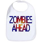 Zombies Ahead Bib