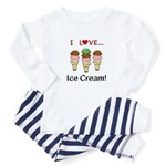 I Love Ice Cream Infant Bodysuit
