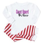 Coast Guard Niece Baby Pajamas