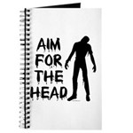 Aim For The Head Zombie Journal