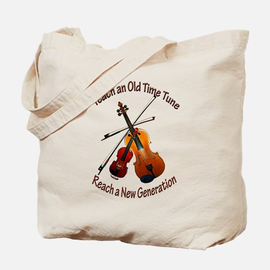 Teach Old Time Tote Bag