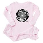 45rpm Mod Spiral Baby Pajamas