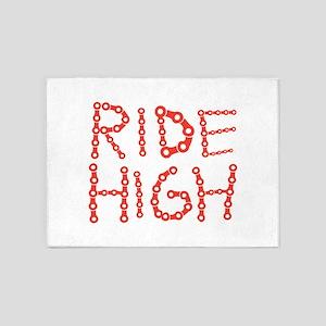 Ride High - Bike 5'x7'Area Rug