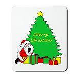 Christmas Scene Mousepad