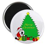 Christmas Scene Magnet