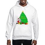 Christmas Scene Hooded Sweatshirt