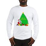 Christmas Scene Long Sleeve T-Shirt