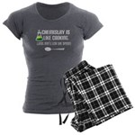 Chemistry Cooking Women's Charcoal Pajamas