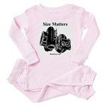 Size Matters Turbo Baby Pajamas by BoostGear