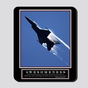 Awesomeness Motivational Mousepad 1
