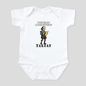 Shakespeare Tartan Infant Bodysuit